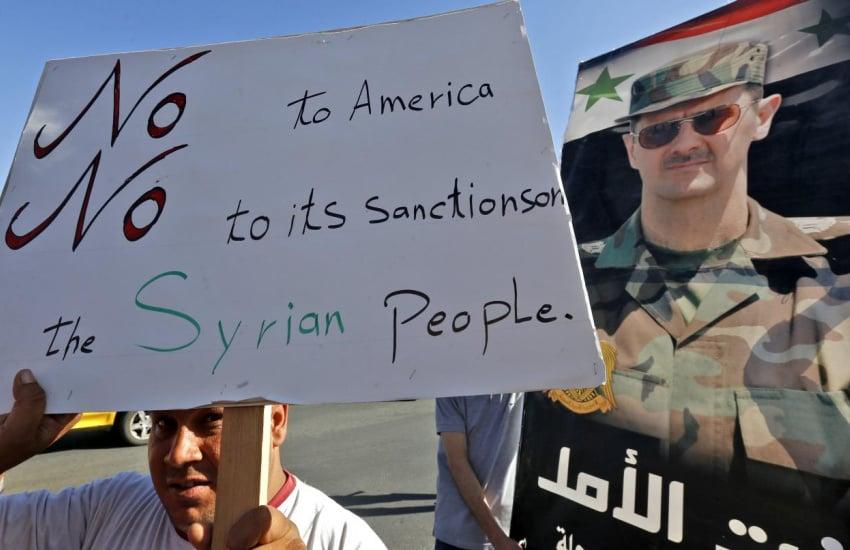 تداوم طولانی مدت درگیری های نظامی در خاورمیانه، هدف قانون سزار