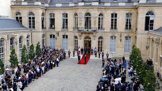 ماکرون اعضای هیات دولت جدید فرانسه را برای ۲ سال پایانی قدرت معرفی کرد