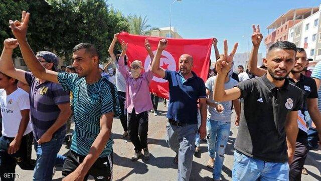 اعتراضات جنوب تونس ادامه دارد