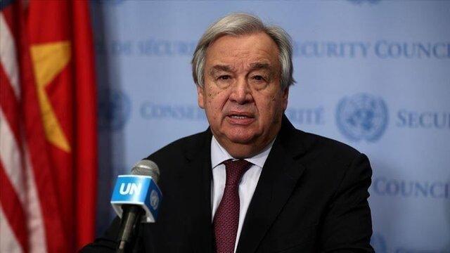 گوترش: با قطعنامه شورای امنیت، ۲.۸ میلیون سوری از کمکها برخوردار میشوند