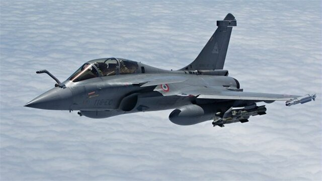 کشته شدن ۲ عضو داعش در حمله هوایی فرانسه در عراق