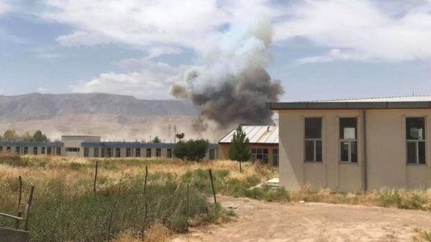 انفجار در نزدیکی ساختمان شهرداری و امنیت ملی سمنگان