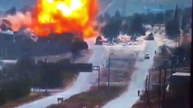 مسکو: افراد مسلح پشت هدفگیری گشتی روسیه - ترکیه با بمب هستند