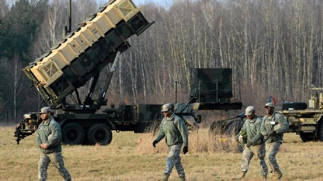 استقرار نیروهای آمریکایی در لهستان برای انجام رزمایش