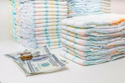 افزایش قیمت پوشک پابهپای دلار