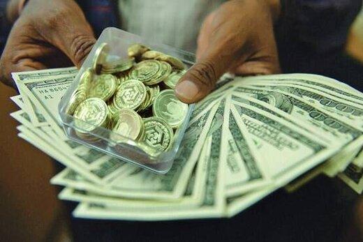 قیمت طلا، قیمت دلار، قیمت یورو، قیمت سکه و قیمت ارز امروز ۹۹/۰۴/۲۶