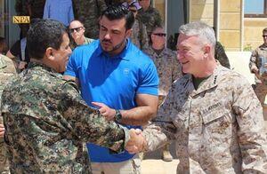 فرمانده تروریستهای آمریکایی در منطقه وارد سوریه شد