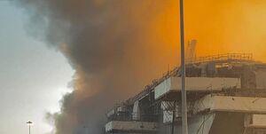 جهنمی از آتش در ناو آمریکایی +عکس و فیلم