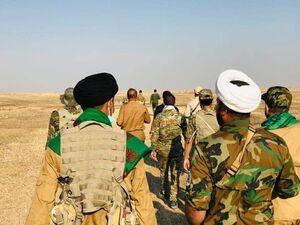 جزئیات عملیات علیه عناصر مخفی داعش در نزدیکی مرزهای مشترک با ایران و اقلیم کردستان + نقشه میدانی و عکس