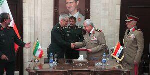 پیام توافق نظامی تهران-دمشق