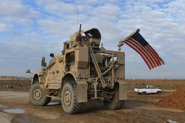 انفجار بمب در نزدیکی پایگاه نظامیان آمریکایی در سوریه