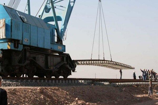 آغاز ریل گذاری خط آهن چابهار-زاهدان/ آخرین وضعیت پیشرفت پروژه