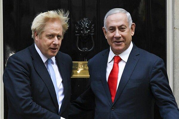 جانسون و نتانیاهو درباره اشغال کرانه باختری گفتگو کردند