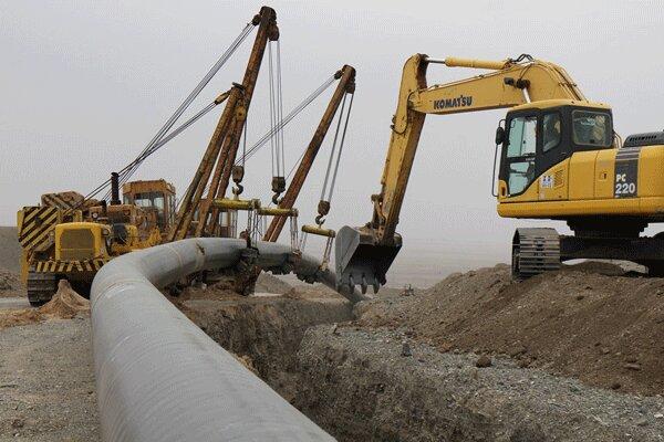پیشرفت ۴۵ درصدی پروژه انتقال گاز ایرانشهر- چابهار- کنارک