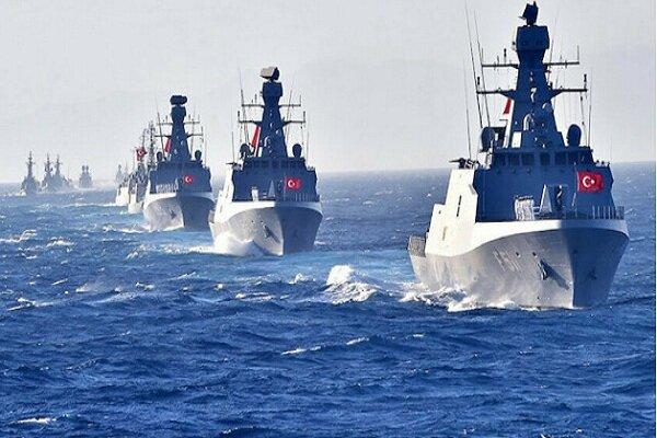ترکیه رزمایش بزرگی را در سواحل لیبی برگزار میکند