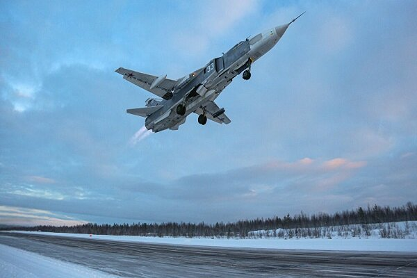 هواپیمای آمریکایی پس از رهگیری از سوی جنگنده های روس فرار کرد