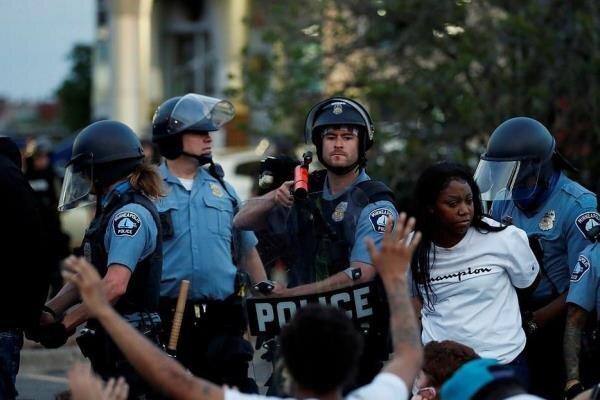 شعله ورتر شدن آتش اعتراضات آمریکا به دلیل قتل یک سیاه پوست دیگر