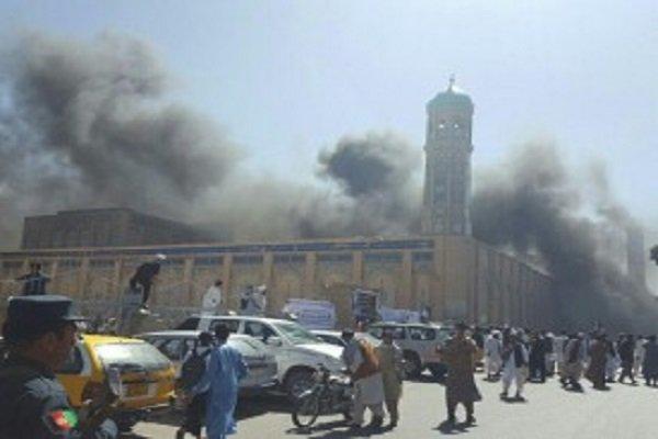 وقوع انفجار قوی در ولایت سمنگان افغانستان ۴۰ زخمی برجا گذاشت