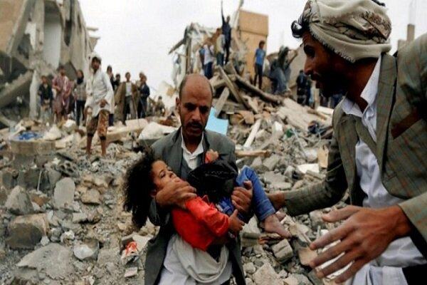 شهادت ۹ غیرنظامی در حمله هوایی ائتلاف سعودی به «جوف» یمن