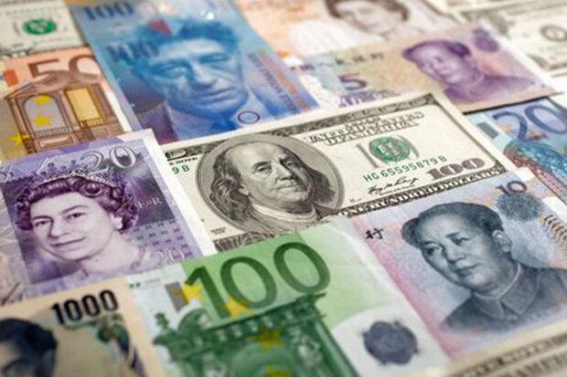 جزئیات نرخ رسمی ۴۷ ارز / قیمت ۲۲ ارز کاهش یافت