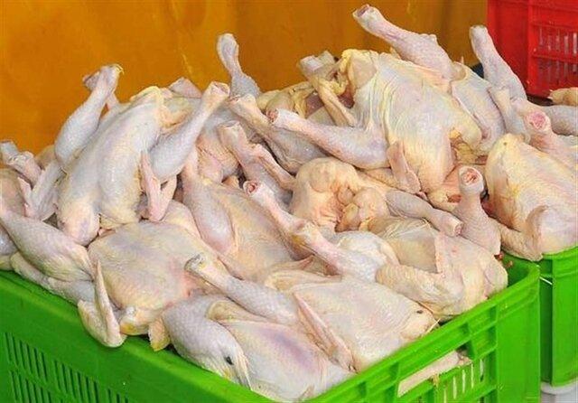 قیمت مرغ به 17 هزا رو 800 تومان رسید