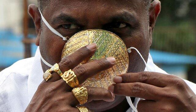 مقابله با کرونا با ماسک 4000 دلاری