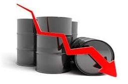 افت قیمت نفت به زیر ۴۳ دلار