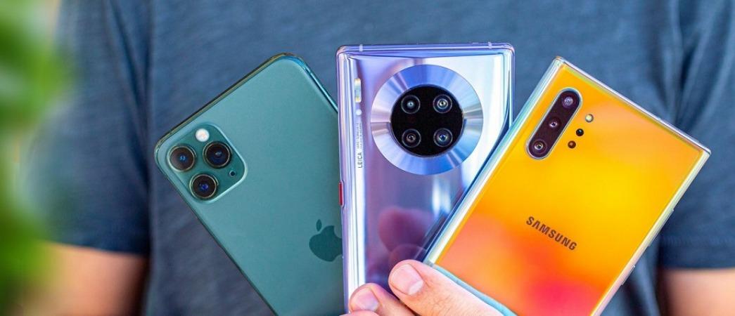 آخرین قیمت گوشی اپل ،سامسونگ و هوآوی در بازار
