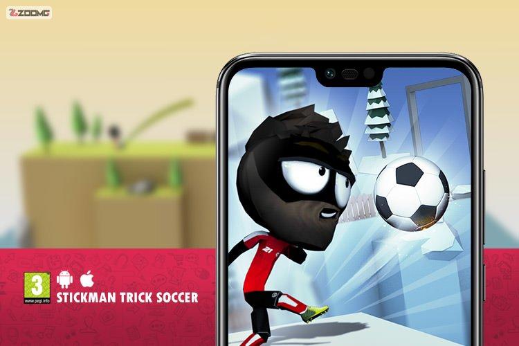 معرفی بازی موبایل Stickman Trick Soccer؛ شوت به سمت دروازه