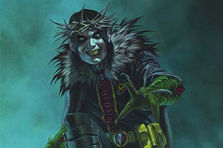 حضور بتمن تی-رکس، رابین کینگ و بتمنی که میخندد، در تصویر جدید Dark Nights: Death Metal