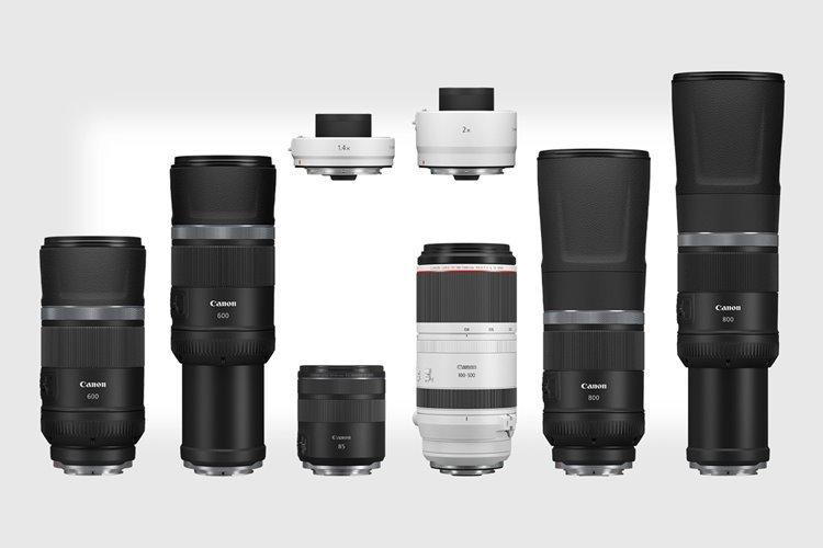کانن از چهار لنز جدید مخصوص دوربینهای بدون آینه خود رونمایی کرد