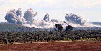 انهدام یکی از بزرگترین انبارهای مهمات تروریستها در ادلب