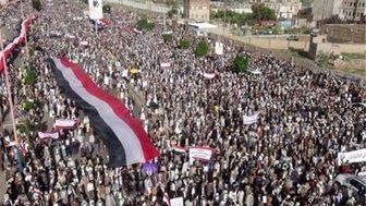 مردم یمن در اجتماعی میلیونی سالروز ولایت امام علی(ع) را گرامی داشتند