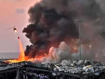 اولین مرحله از عملیات امداد و نجات در بندر بیروت پایان یافت