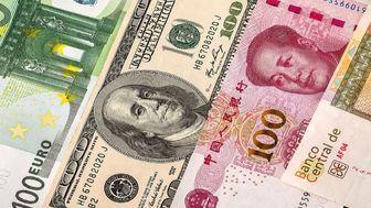 نرخ ارز بین بانکی در 23 مرداد 99