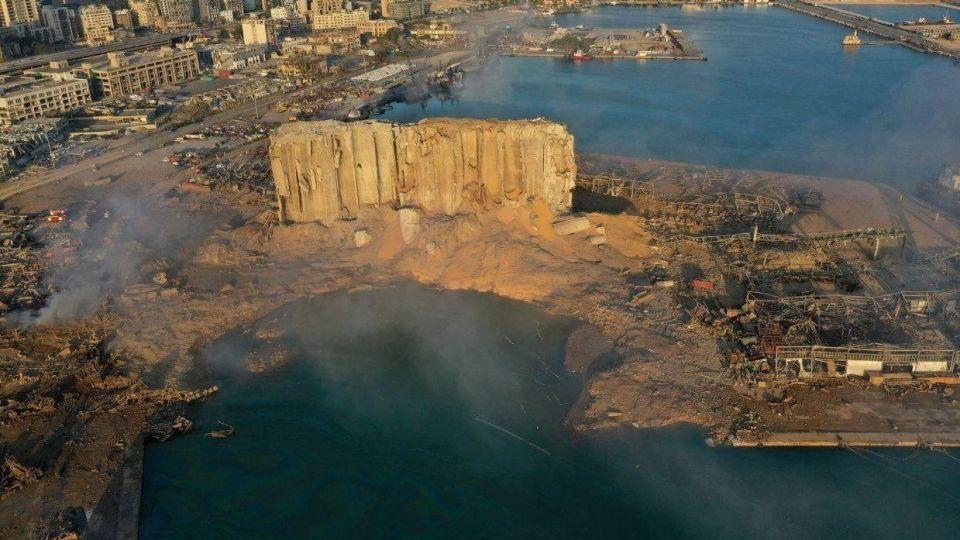 انفجار بیروت حفره ۴۳ متری ایجاد کرده است