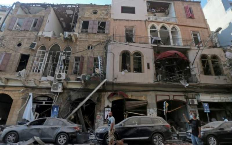60بنای تاریخی در بیروت در خطر فروریختن