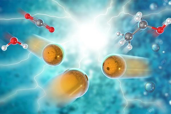 کشف کاتالیزور جدید برای تبدیل دیاکسید کربن و آب به اتانول