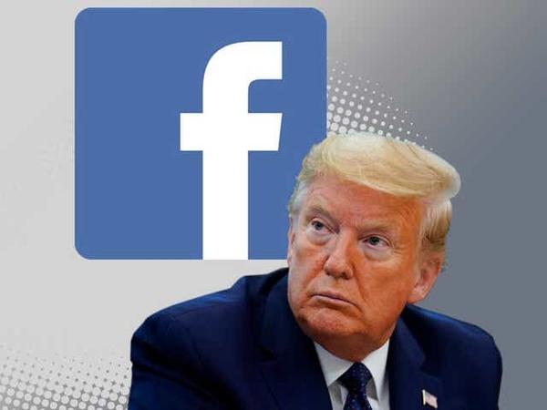 فیسبوک پست ترامپ را حدف کرد
