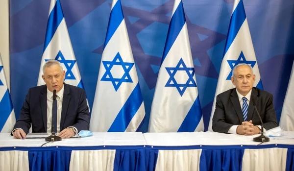 توافق نتانیاهو و گانتز بر سر به تعویق افتادن ضربالاجل تصویب بودجه