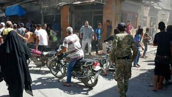 ۶ کشته و زخمی بر اثر انفجار موتورسیکلت بمبگذاری شده در جرابلس سوریه