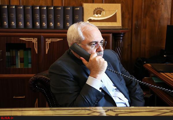 گفتوگوی تلفنی ظریف با وزیر خارجه فلسطین