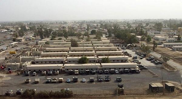 اصابت ۲ فروند موشک به پایگاه هوایی التاجی در عراق