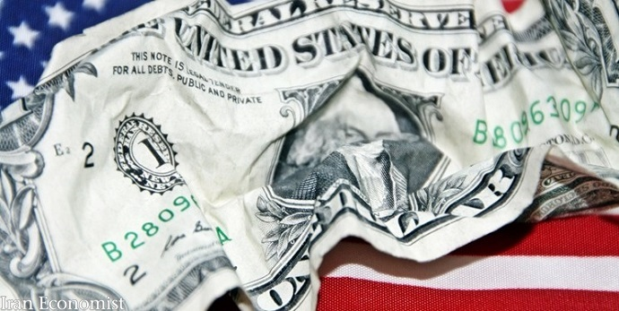 سقوط دلار در پرتگاه