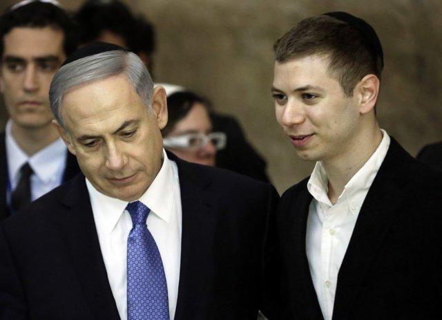 """پسر نتانیاهو تظاهرکنندگان مخالف پدرش را """"موجودات فضایی"""" خواند"""