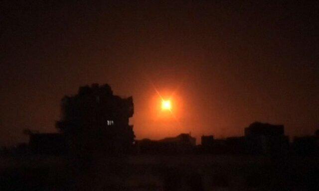 """درگیری پدافند هوایی سوریه با """"اهداف متخاصم"""" اسرائیلی"""