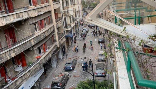 استاندار بیروت حادثه روی داده را با بمباران اتمی هیروشیما و ناکازاکی مقایسه کرد