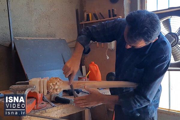 ویدئو / مبلسازان استان مرکزی، زیر تیغ کرونا و ارز
