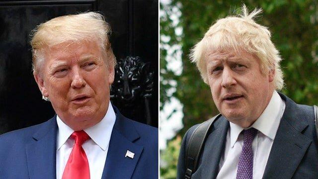 ترامپ نخست وزیر انگلیس را بر سر هوآوی تهدید کرده است