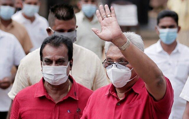 """بازیابی کامل قدرت اجرایی برادران """"راجاپاسکه"""" در سریلانکا"""